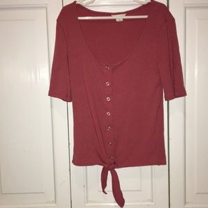 AEROPOSTALE xs tie shirt GREAT CONDITION